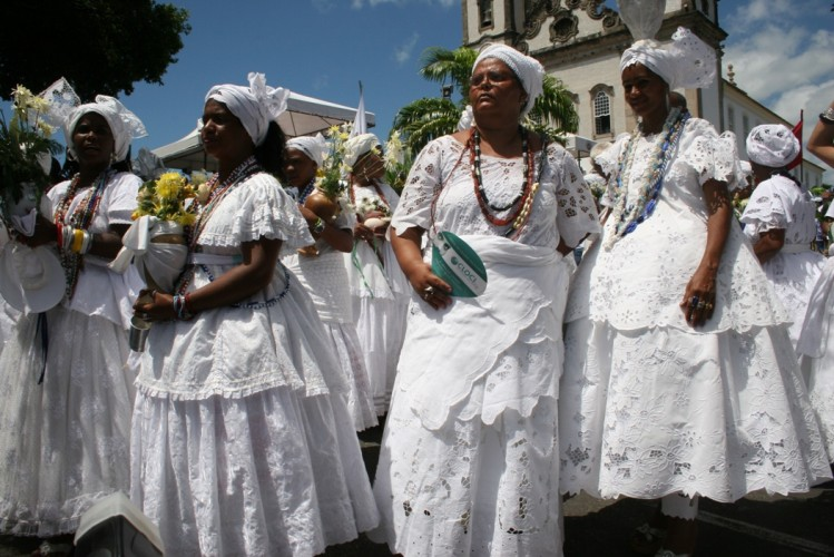 Candomblé, Macumba Ritual and Jaré in Brazil Photo