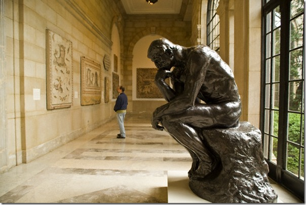 Perspective in Anthropology-The Thinker-Rodin
